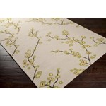 "Surya Rain Parchment (RAI-1076) Rectangle 3'0"" x 5'0"""