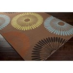 "Surya Rain Coffee Bean (RAI-1086) Rectangle 2'0"" x 3'0"""