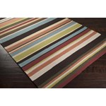 "Surya Rain Wenge (RAI-1091) Rectangle 8'0"" x 10'0"""