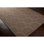 "Surya Rain Wenge (RAI-1095) Rectangle 9'0"" x 12'0"""