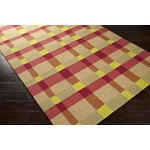 "Surya Rain Pale Gold (RAI-1124) Rectangle 3'0"" x 5'0"""