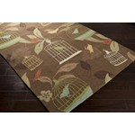 "Surya Rain Hot Cocoa (RAI-1127) Rectangle 3'0"" x 5'0"""