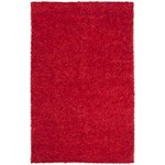 "Surya Taz Scarlet Red (TAZ-1007) Rectangle 5'0"" x 8'0"""