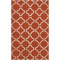 Surya Jill Rosenwald Zuna Poppy Red (ZUN-1041) Rectangle 5